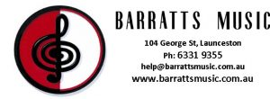 Barratts Music - Street Requiem Sponsor