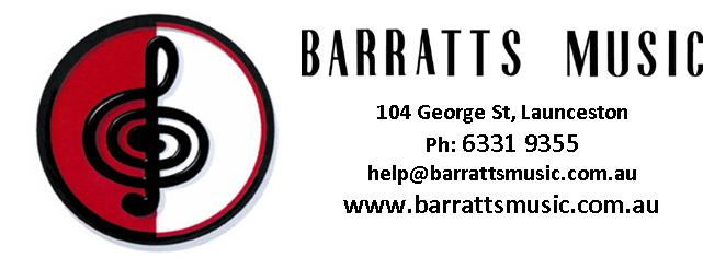 Barratts Music - Melbourne/Ballarat Tour Sponsor