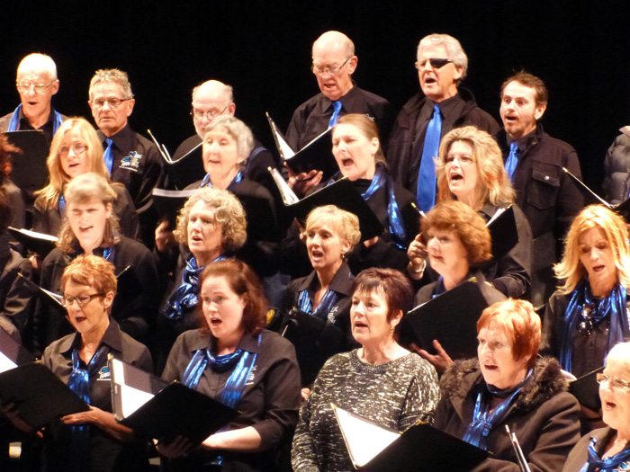 Vox Harmony City of Launceston Choir at Festival of Voices 2013